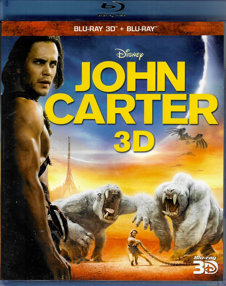 John Carter: Mezi dvěma světy 3D - 2BD (3D+2D)