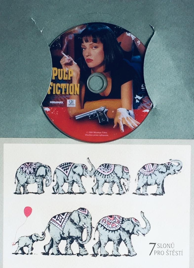 Pulp Fiction - DVD /dárkový obal/