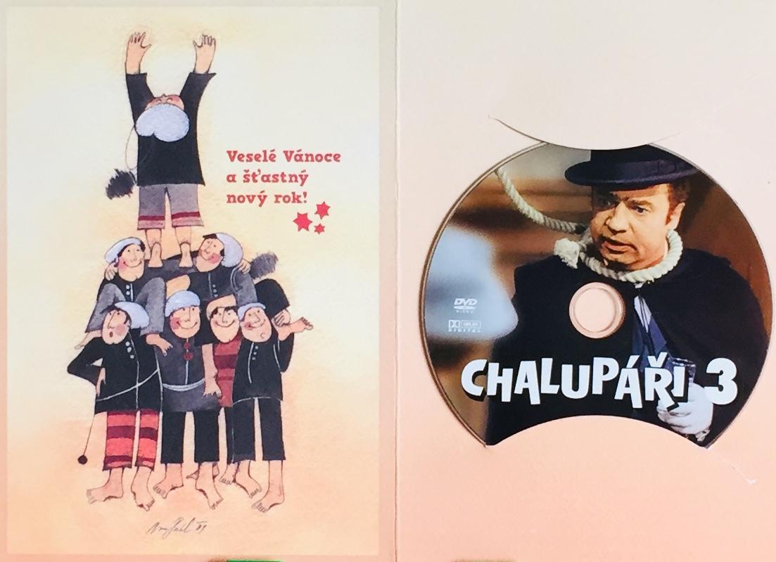 Chalupáři 3 - DVD /dárkový obal/