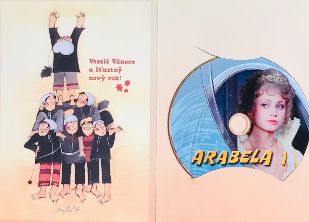 Arabela 1 - DVD /dárkový obal/