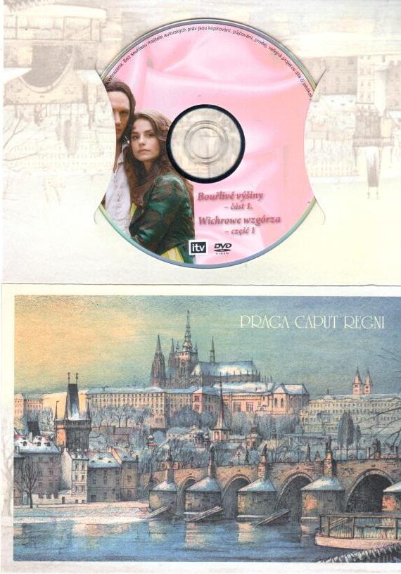 Kolekce romancí 2 - Emily Brontëová: Bouřlivé výšiny - část 1. - DVD dárková obálka