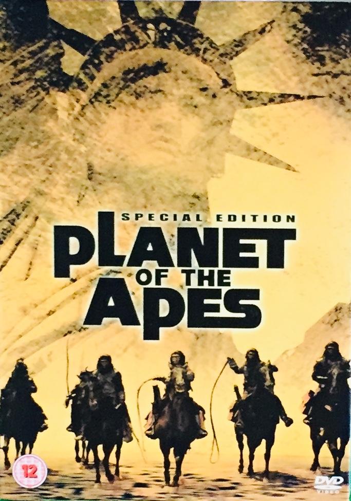Planet of the Apes / Planeta opic - Special Edition - v originálním znění bez CZ titulků - 2xDVD /plast v šubru/