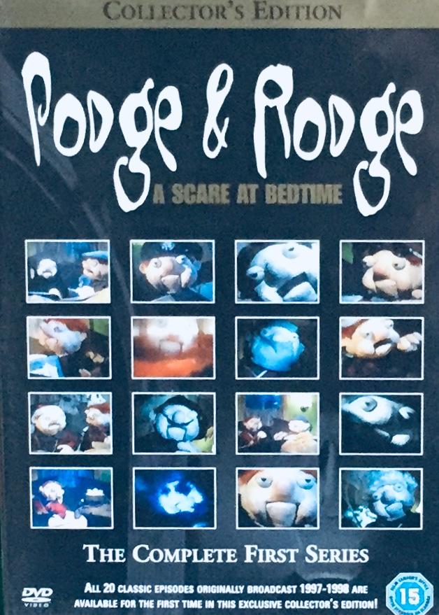 Podge & Rodge - A Scare at Badtime - The Complete First Series - v originálním znění bez CZ titulků - DVD /plast/