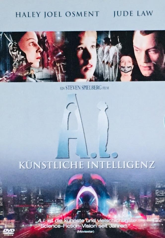 A.I. Künstliche Intelligenz / A.I. Umělá inteligence - v originálním znění s CZ titulky - 2xDVD /digipack v šubru/