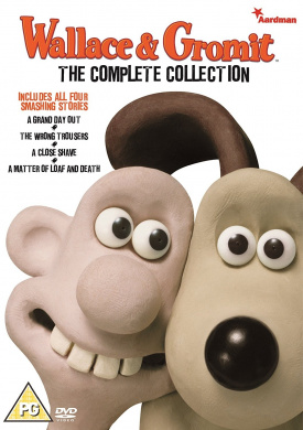 Wallace & Gromit - The Complete Collection - v originálním znění bez CZ titulků - DVD /plast/