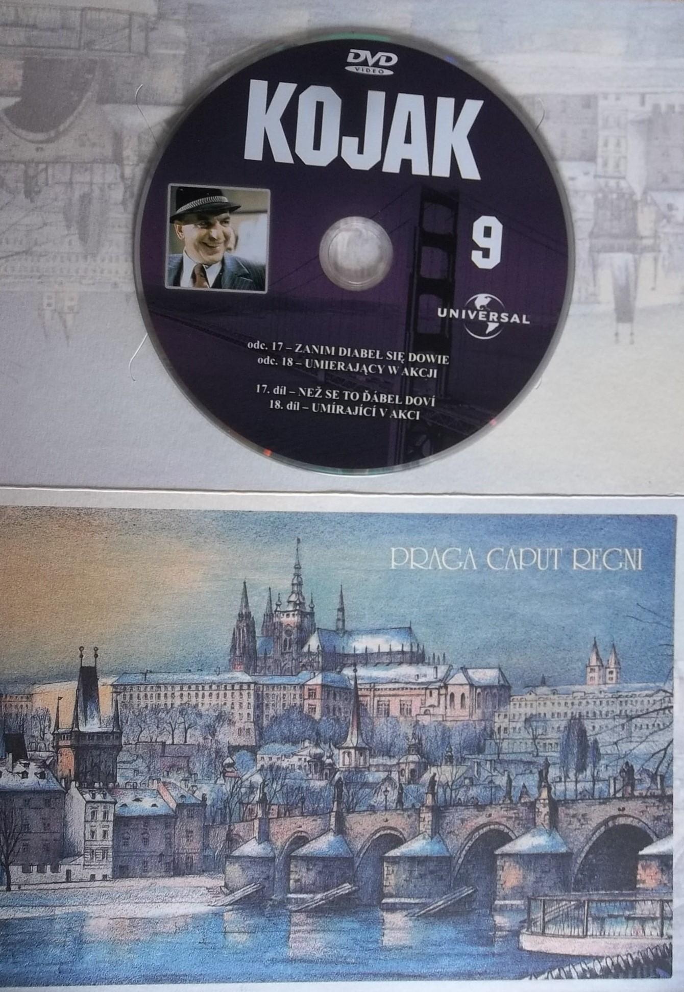 Kojak 9 (dárková obálka) DVD