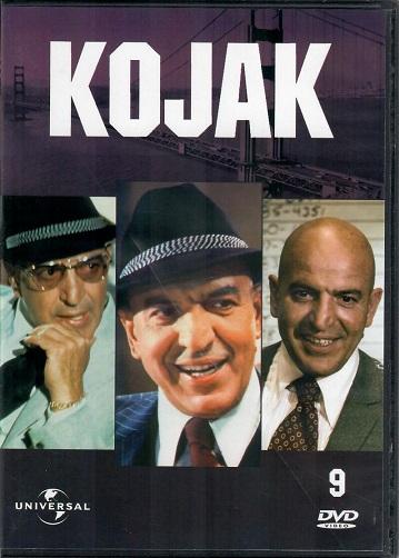 Kojak 9 (slim ) DVD