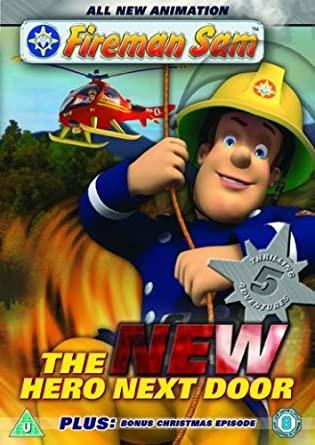 Fireman Sam - The New Hero Next Door / Požárník Sam - v originálním znění bez CZ titulků - DVD /plast/