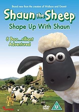 Shaun the Sheep - Shape Up With Shaun - v originálním znění bez CZ titulků - DVD /plast/