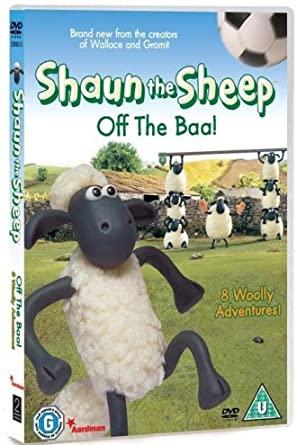 Shaun the Sheep - Off The Baa! - v originálním znění bez CZ titulků - DVD /plast/