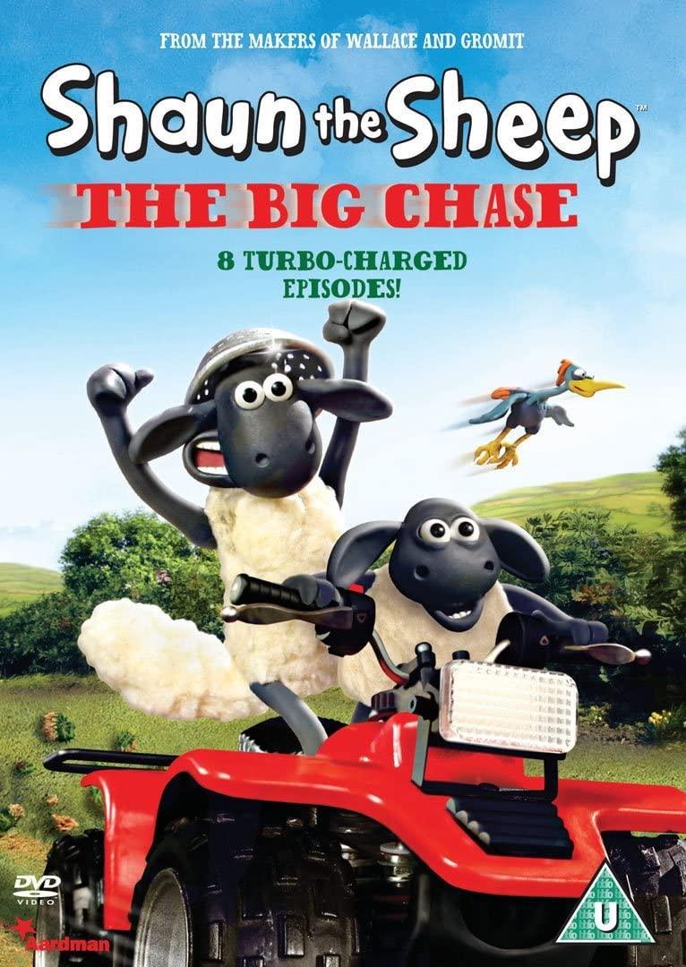 Shaun the Sheep - The Big Chase - v originálním znění bez CZ titulků - DVD /plast/