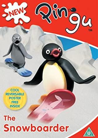 Pingu - The Snowboarder - v originálním znění bez CZ titulků - DVD /plast/