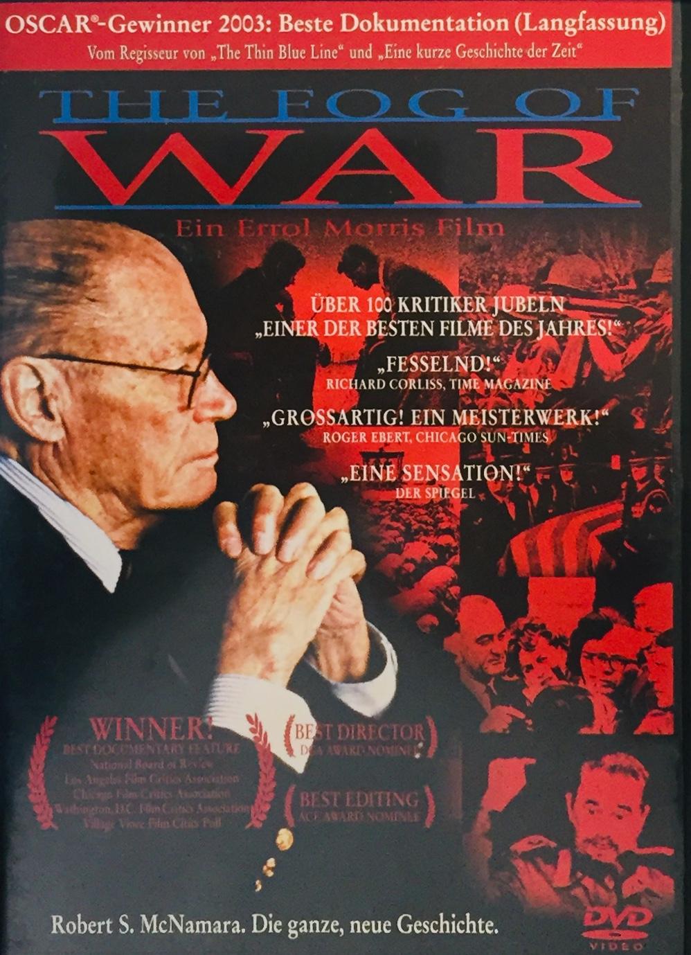 The Fog of War / Mlha války - v originálním znění bez CZ titulků - DVD /plast/