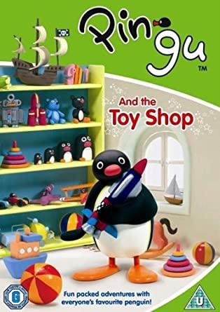 Pingu and the Toy Shop - v originálním znění bez CZ titulků - DVD /plast/
