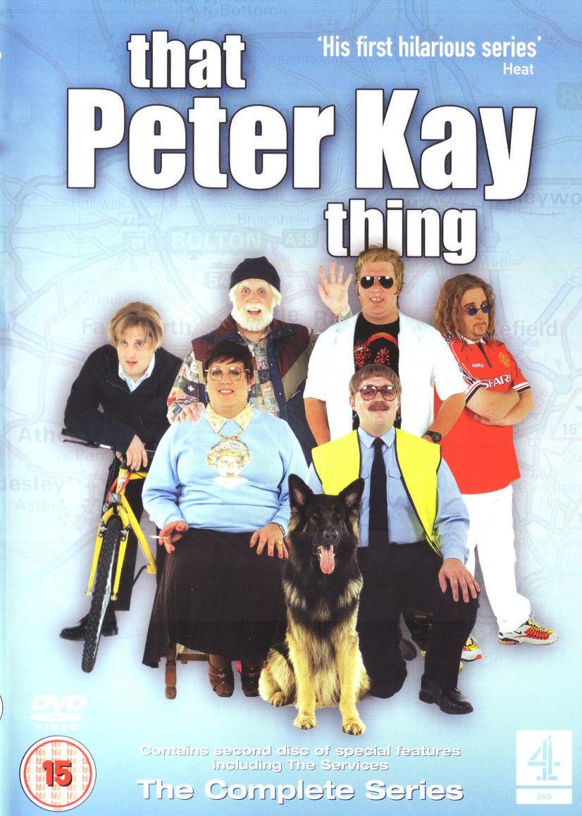 That Peter Kay Thing - The Complete Series - v originálním znění bez CZ titulků - 2xDVD /plast/