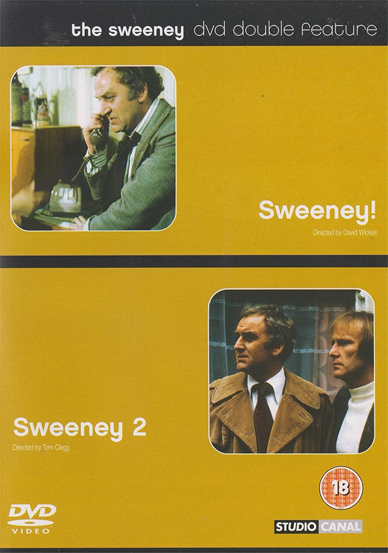 The Sweeney DVD double feature - v originálním znění bez CZ titulků - DVD /plast/