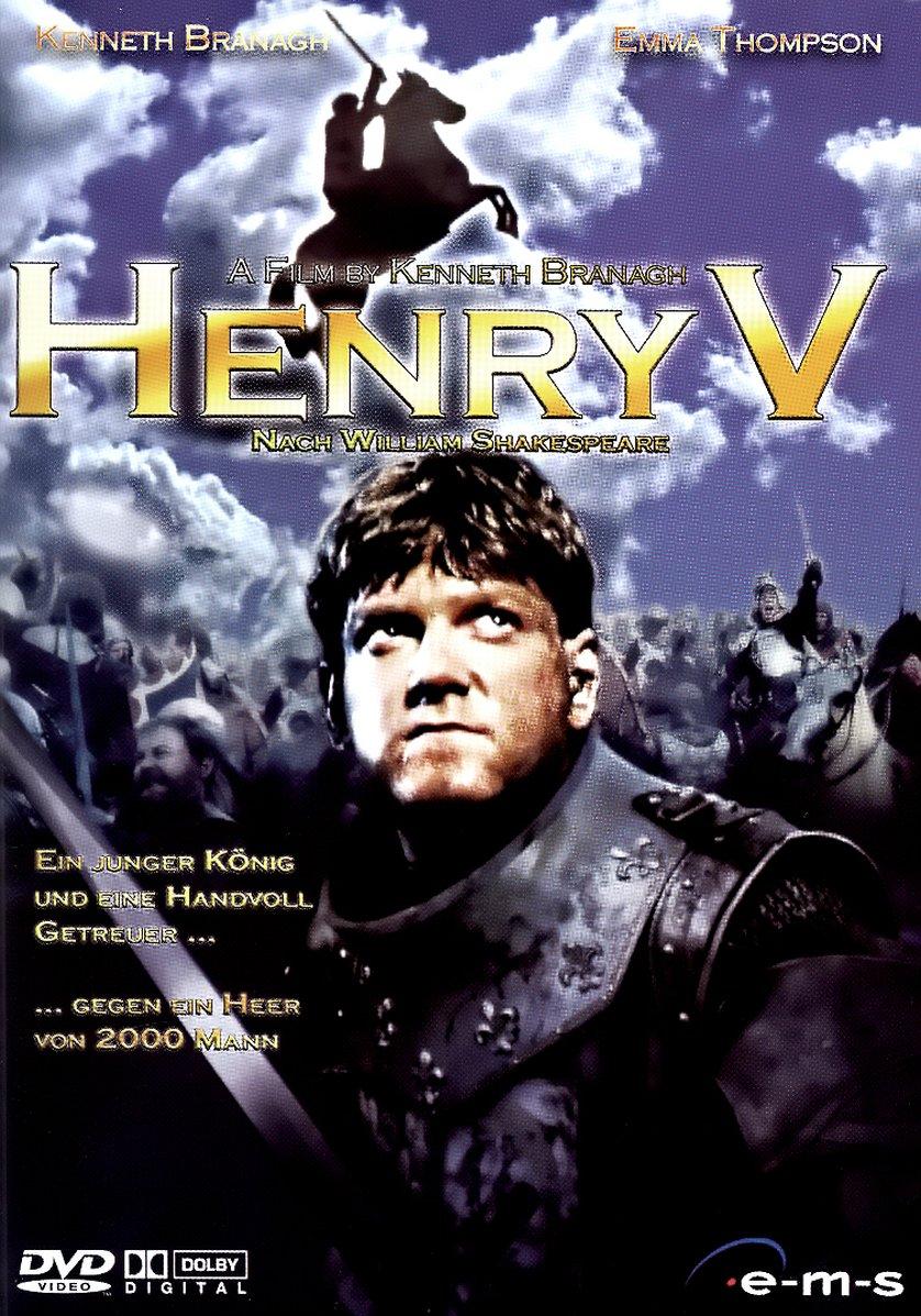Henry V / Jindřich V. - v originálním znění bez CZ titulků - DVD /plast/