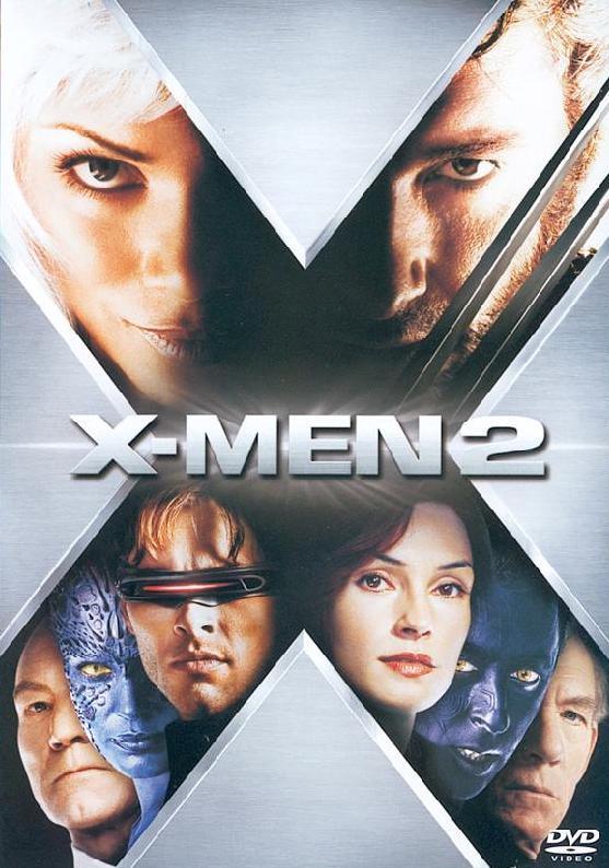 X-Men 2 - v originálním znění bez CZ titulků - DVD /plast/