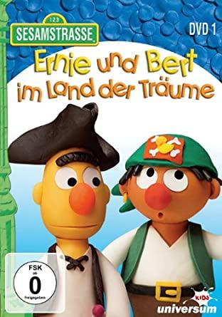 Ernie und Bert im Land der Träume - DVD 1 - v originálním znění bez CZ titulků - DVD /plast/