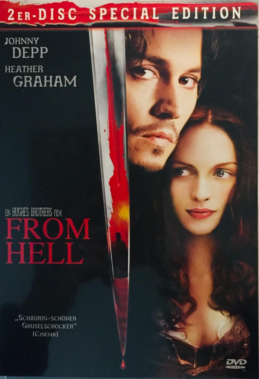 From Hell / Z pekla- 2er-Disc Special Edition - v originálním znění bez CZ titulků - DVD /plast/