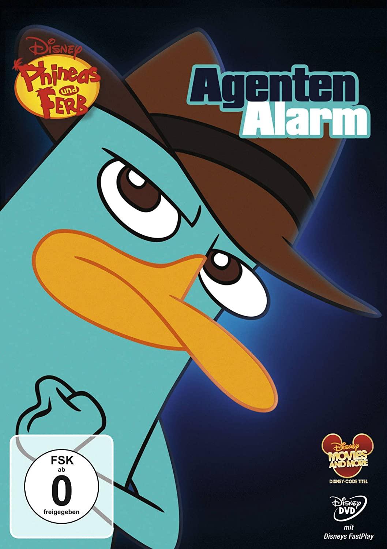 Phineas und Ferb - Agenten Alarm - v originálním znění s českým dabingem - DVD /plast/