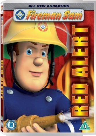 Fireman Sam - Red Alert / Požárník Sam - v originálním znění bez CZ titulků - DVD /plast/