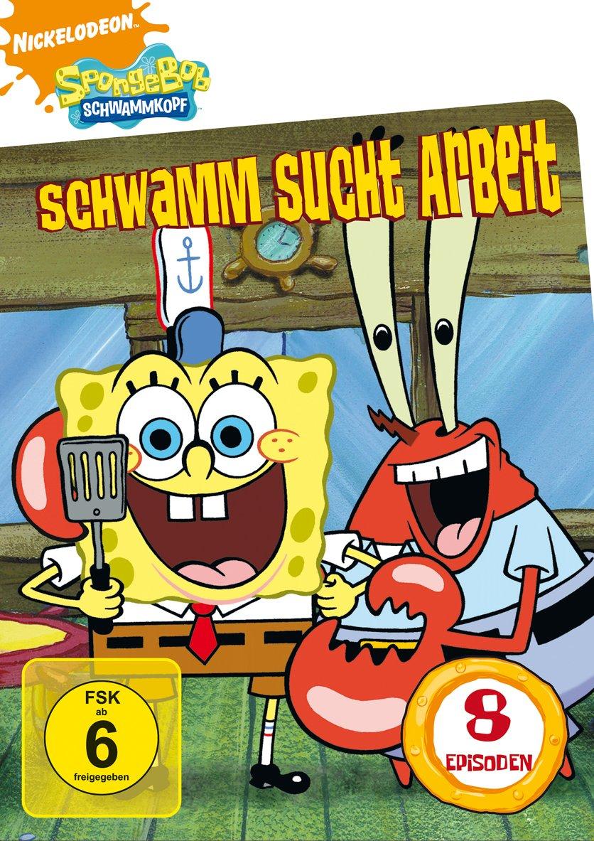 Spongebob - Schwammkopf - Schvamm sucht arbeit - v originálním znění bez CZ titulků - DVD /plast/
