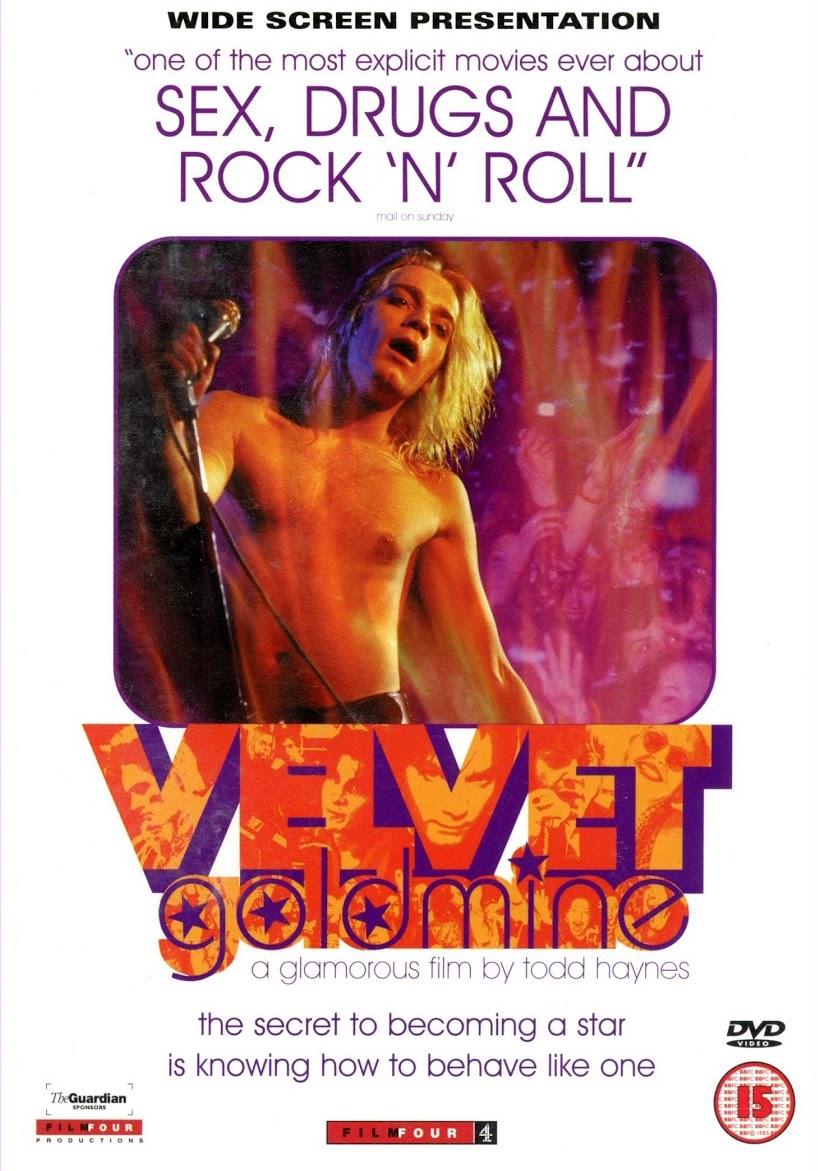 Velvet Goldmine / Sametová extáze - v originálním znění bez CZ titulků - DVD /plast/