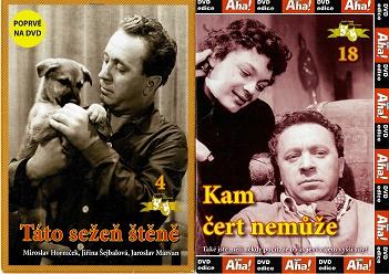 Nedělní filmy pro pamětníky 8: Miroslav Horníček - 2x DVD