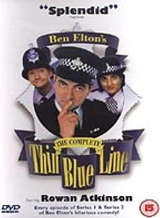 The Complete Thin Blue Line / Tenká modrá linie - v originálním znění bez CZ titulků - DVD /plast/