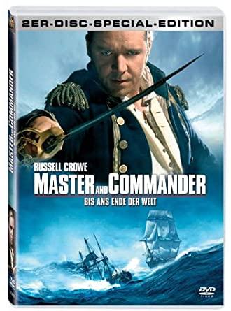 Master and Commander - Bis Ans Ende der Welt / Odvrácená strana světa - 2er-Disc Special Edition - v originálním znění bez CZ titulků - 2xDVD /plast/
