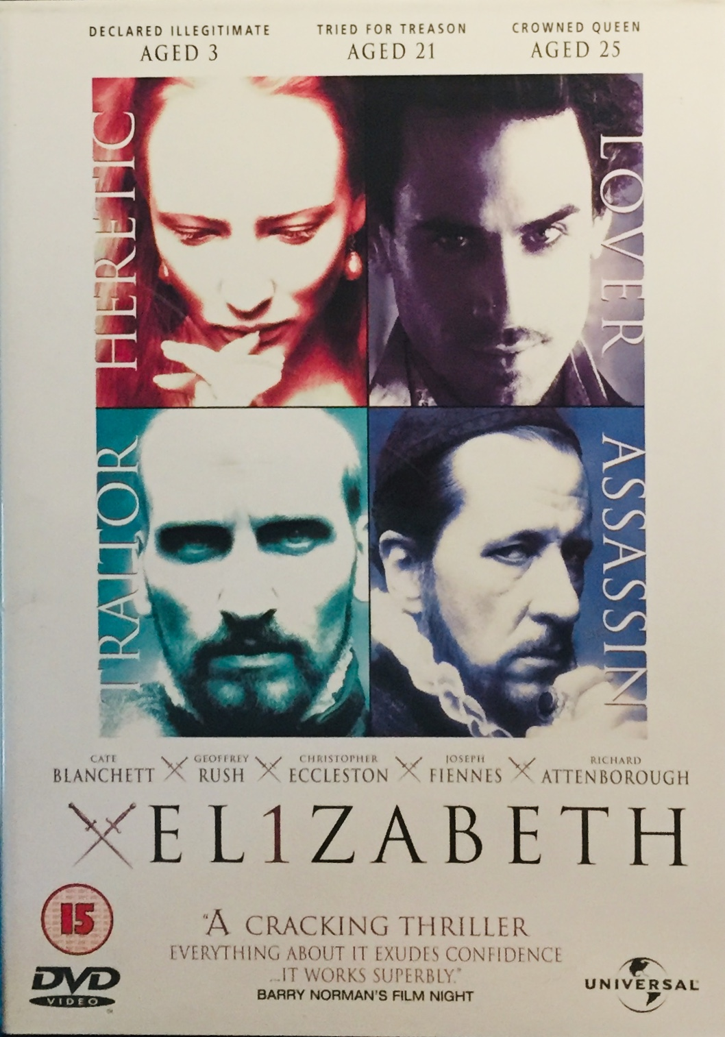 Elizabeth / Královna Alžběta - v originálním znění bez CZ titulků - DVD /plast/