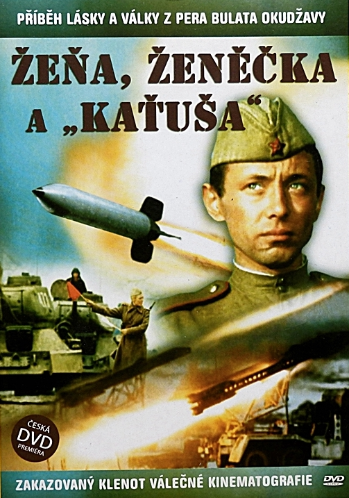 "Žeňa, Ženěčka a ""Kaťuša"" - DVD /plast/"