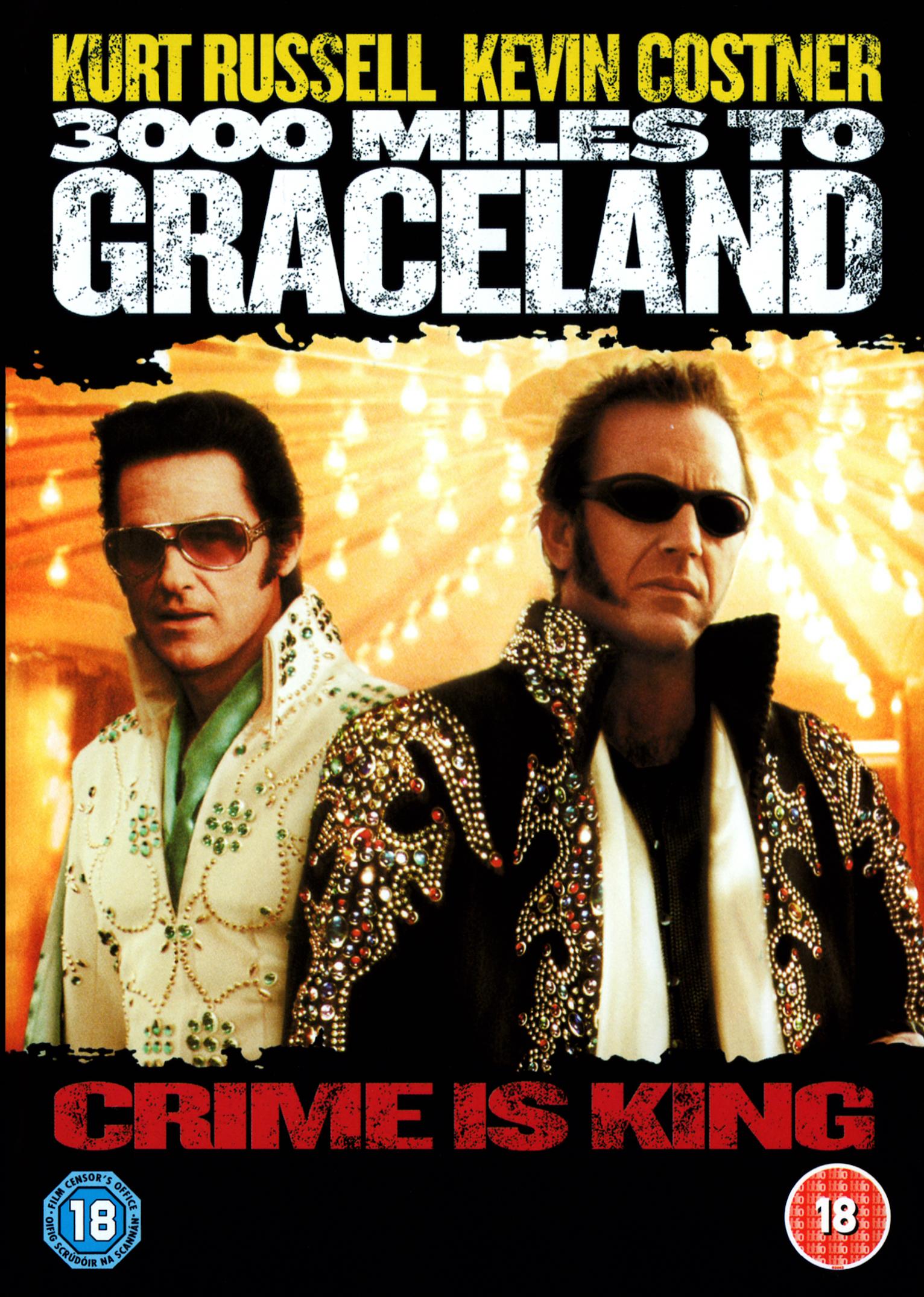 3000 Miles to Graceland / 3000 mil na útěku - v originálním znění bez CZ titulků - DVD /plast/