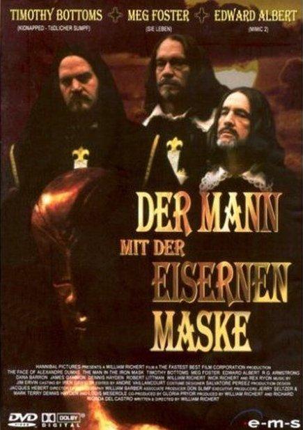 Der Mann mit der Eiesernen Maske / Muž se železnou maskou - v originálním znění bez CZ titulků - DVD /plast/