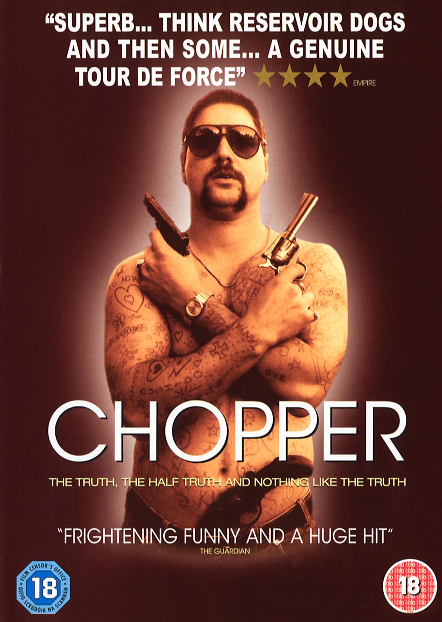 Chopper / Drsňák Chopper - v originálním znění bez CZ titulků - DVD /plast/