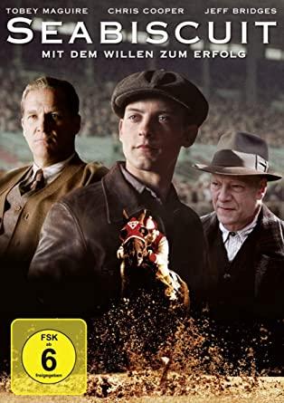 Seabiscuit / Dupot koní - v originálním znění bez CZ titulků - DVD /plast/