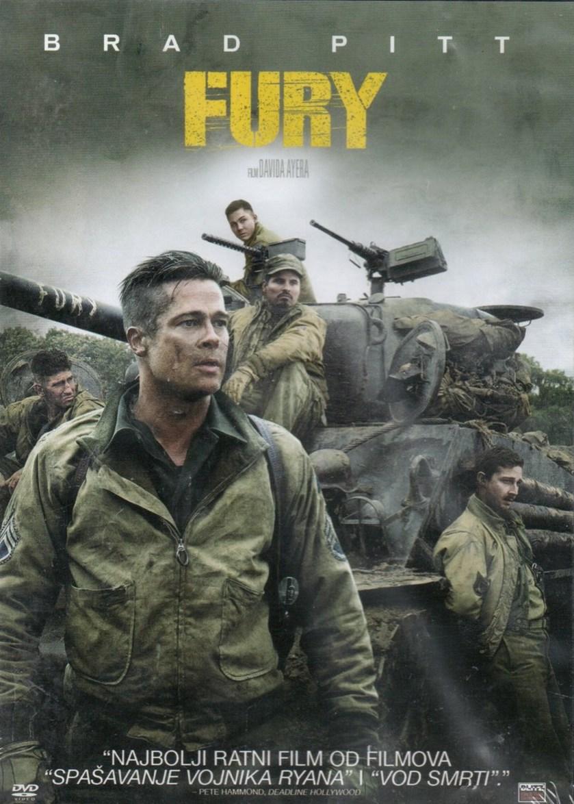 Fury / Železná srdce - v originálním znění bez CZ titulků - DVD /slim/