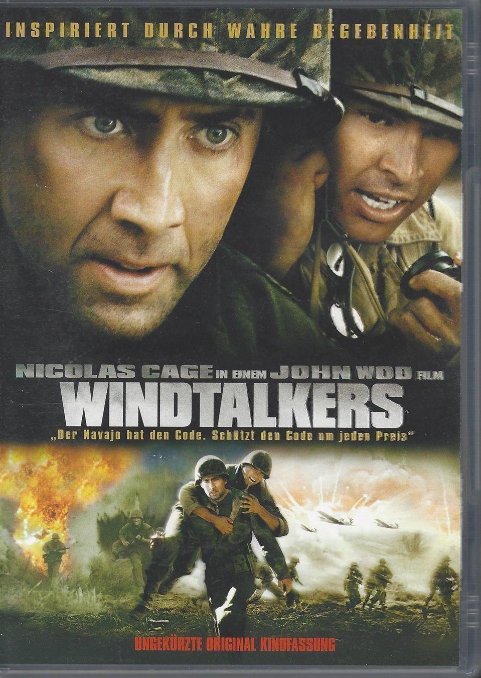 Windtalkers / Kód Navajo - v originálním znění bez CZ titulků - DVD /plast/