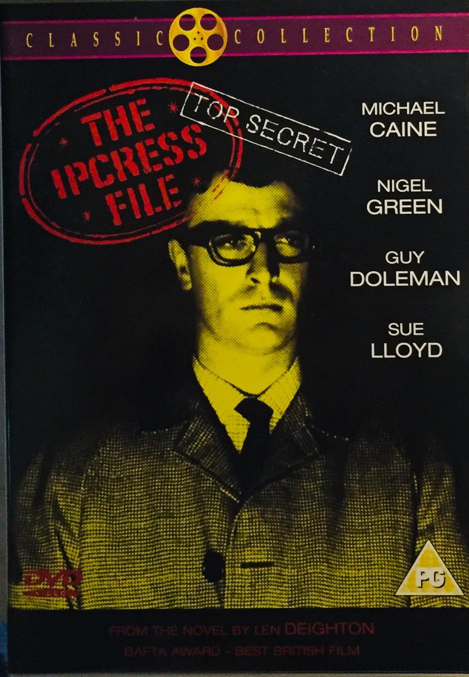 The Ipcress File / Agent Palmer: Případ Ipcress - Classic Collection - v originálním znění bez CZ titulků - DVD /plast/
