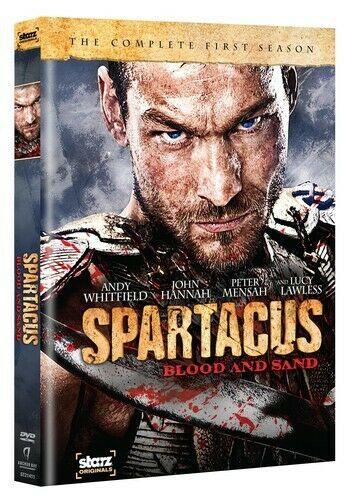 Spartacus - Blood and Sand - The Complete First Series - v originálním znění bez CZ titulků - 4xDVD /plast v šubru/