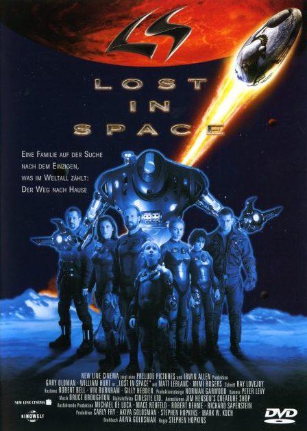 Lost in Space / Ztraceni ve vesmíru - v originálním znění bez CZ titulků - DVD /plast/
