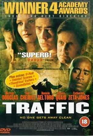 Traffic / Nadvláda gangů - v originálním znění bez CZ titulků - DVD /plast/
