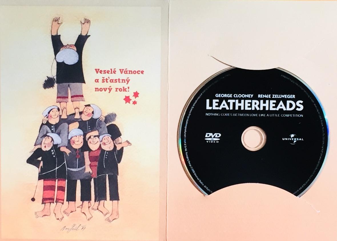Leatherheads / Tvrdé palice - DVD /dárkový obal/