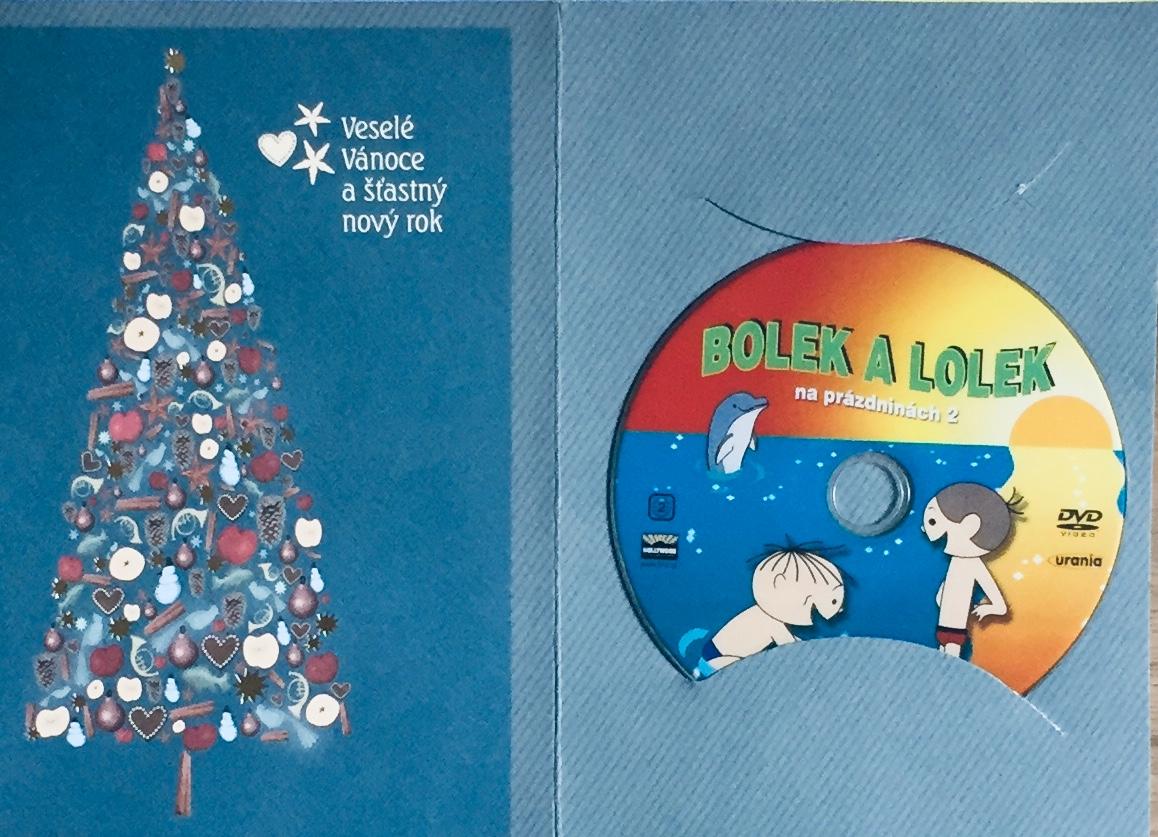 Bolek a Lolek na prázdninách 2 - DVD /dárkový obal/