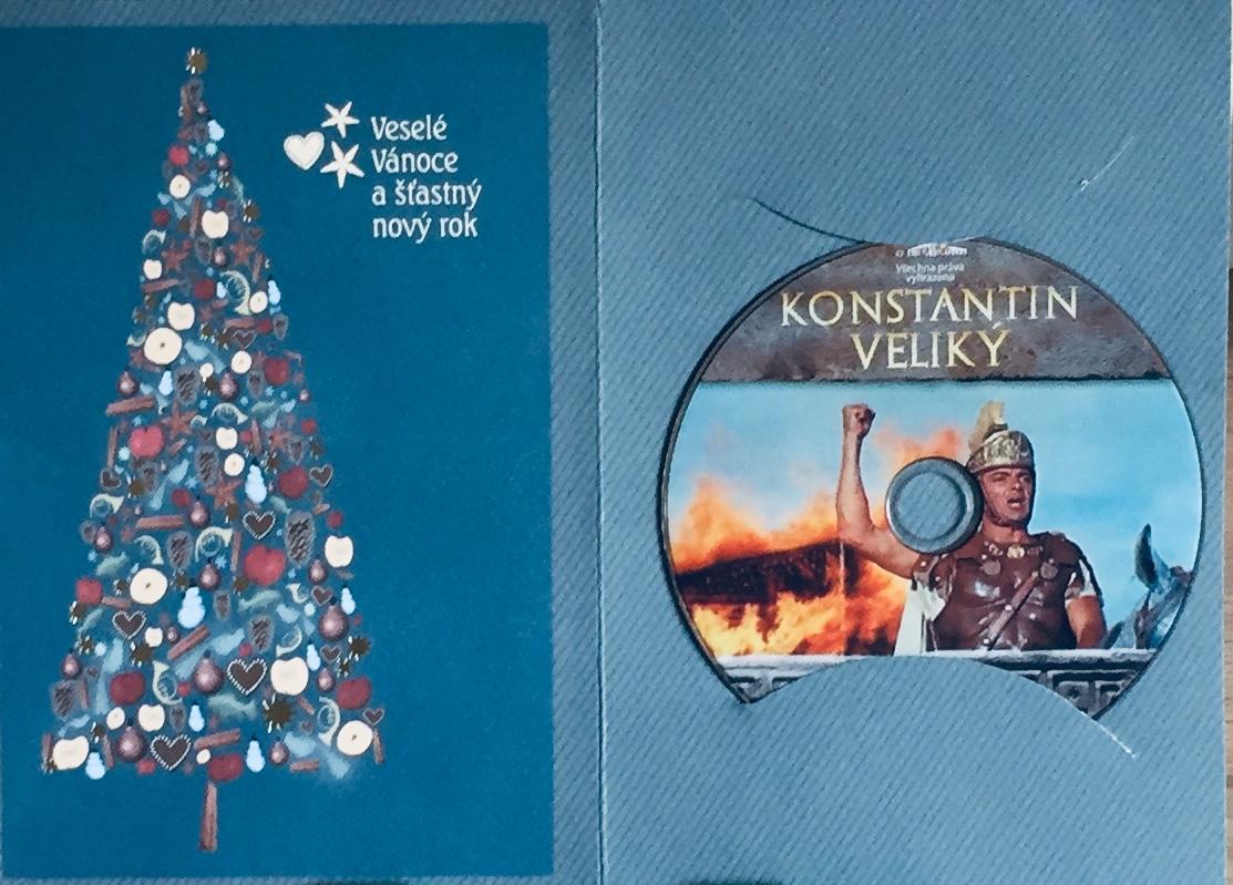 Konstantin Veliký - DVD /dárkový obal/