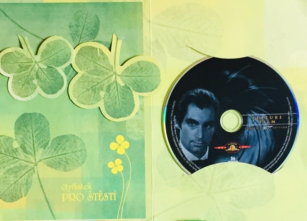 Povolení zabíjet - 007 - DVD /dárkový obal/