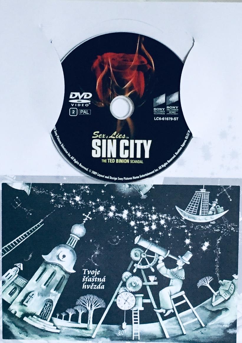 Sex & Lies in Sincity / Sex a lži města hříchu - DVD /dárkový obal/