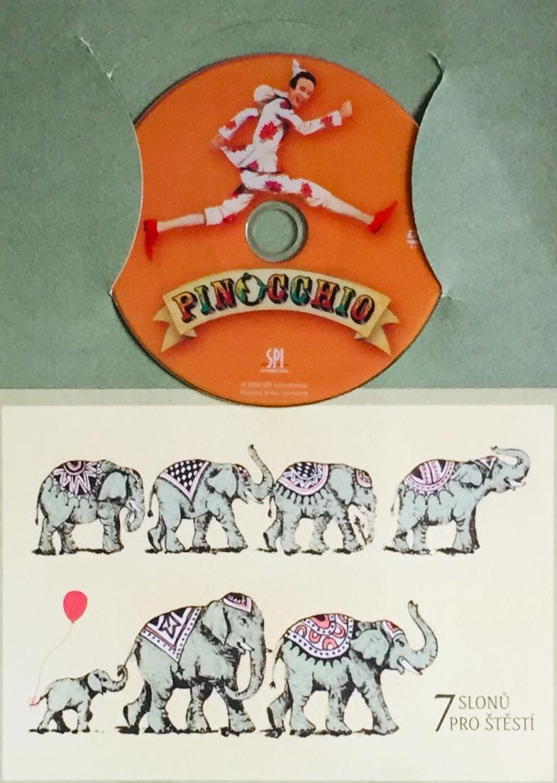 Pinocchio - DVD /dárkový obal/