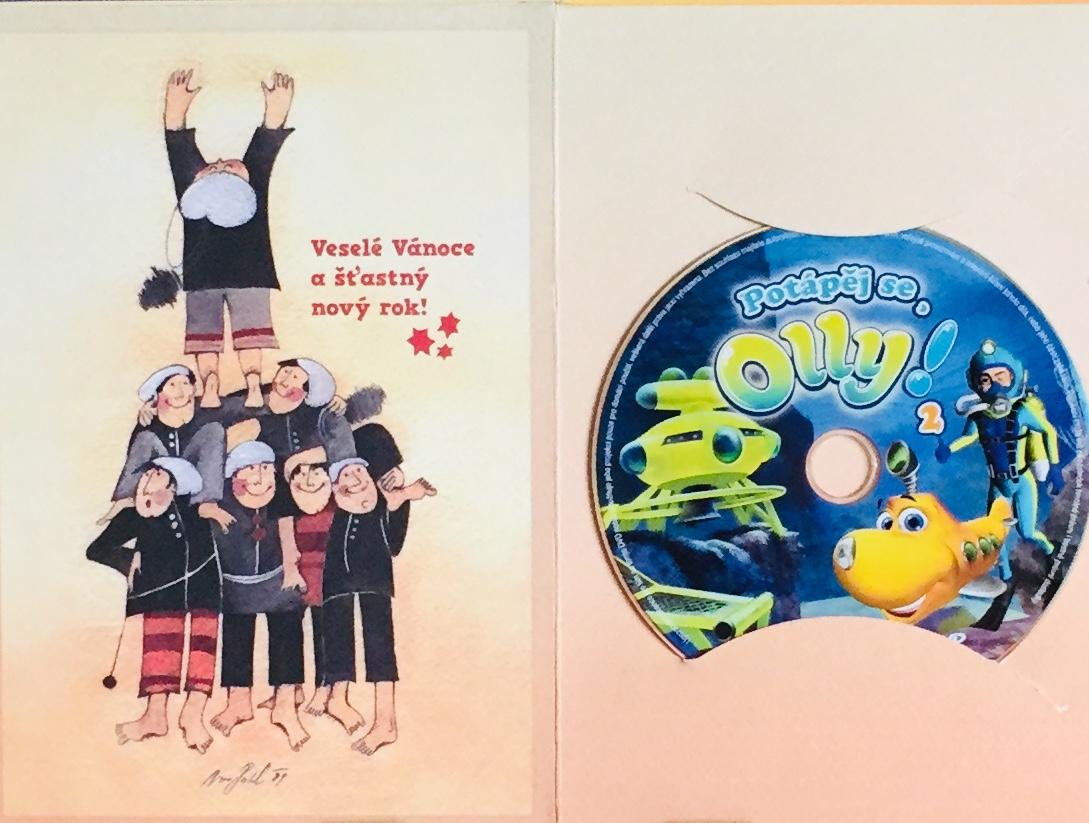 Potápěj se, Olly! 2 - DVD /dárkový obal/
